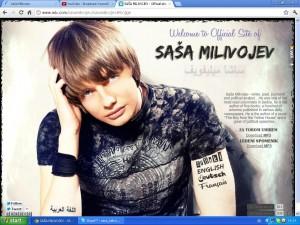 Sasa Milivojev Official site