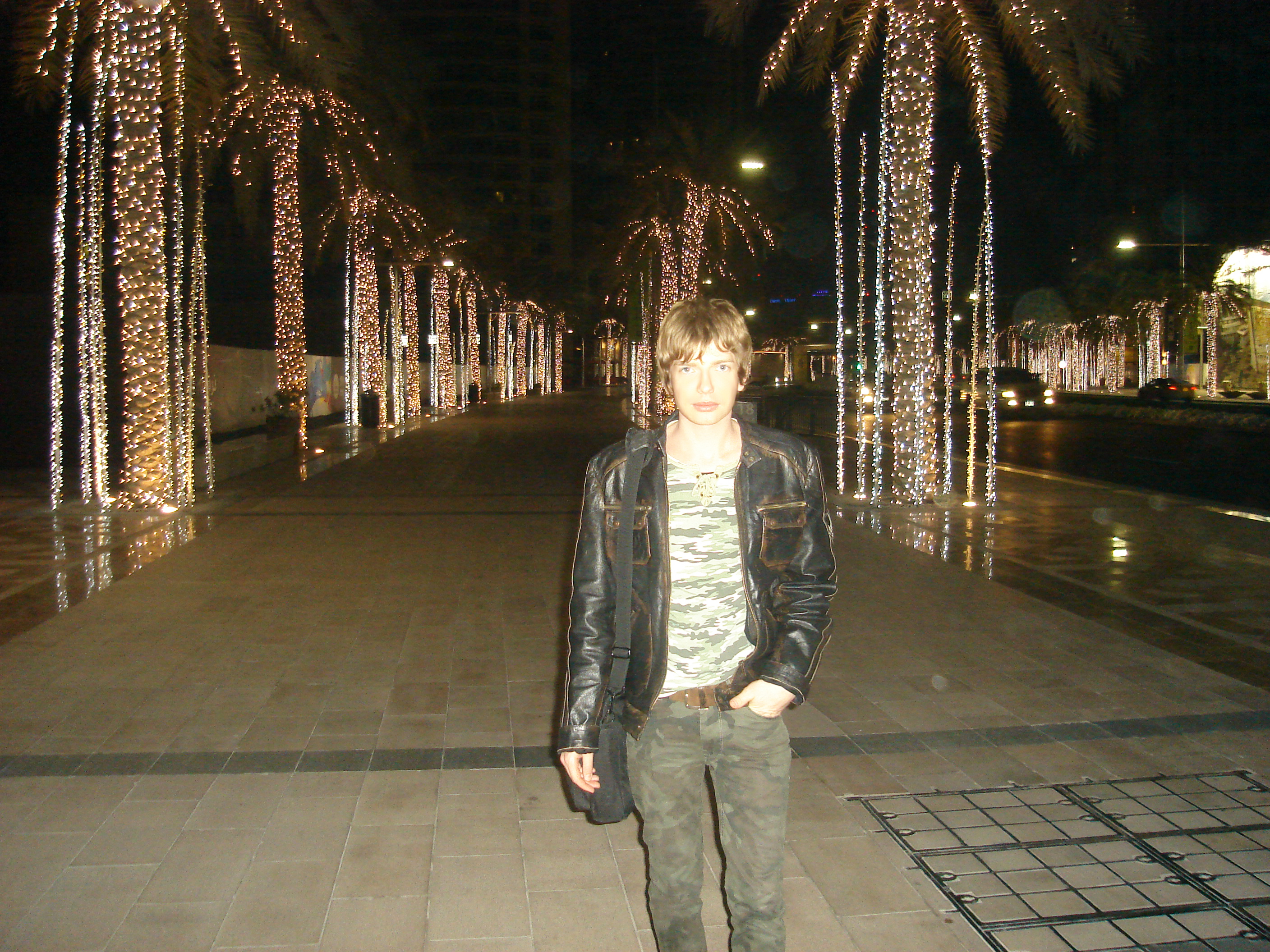 SAŠA MILIVOJEV WAITING NEW YEAR IN DUBAI