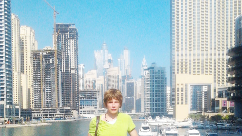 Saša Milivojev - Jumeirah Lakes Towers, Dubai, United Arab Emirates